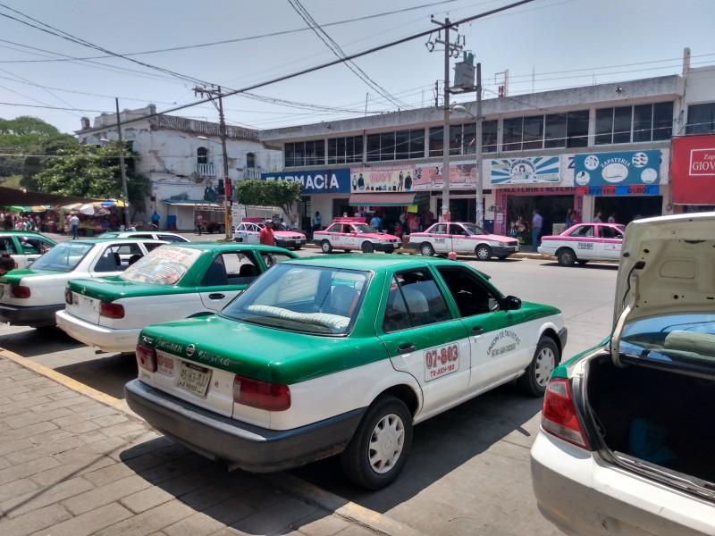 Taxistas pararán labores de llegar la fase 3 del Covid-19