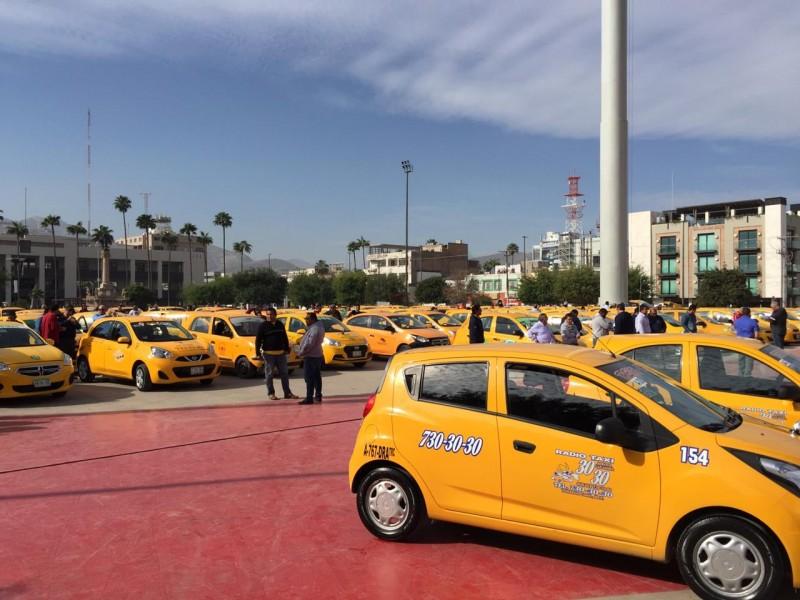 Taxistas no quieren Uber