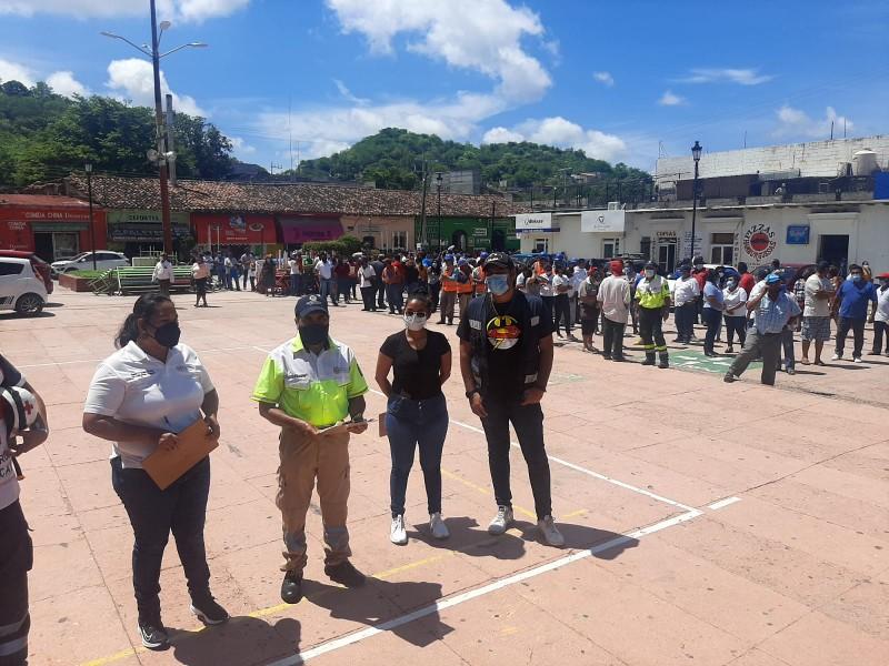 Tehuantepec participará en el Segundo Simulacro Nacional 2021