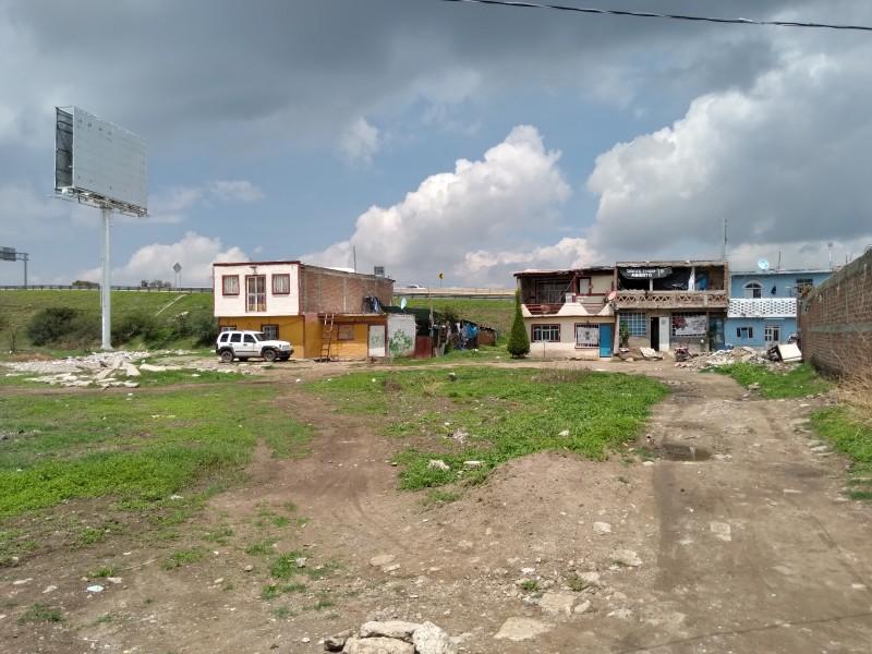 Temen inundaciones en Colonia Acapulquito de Silao de la Victoria
