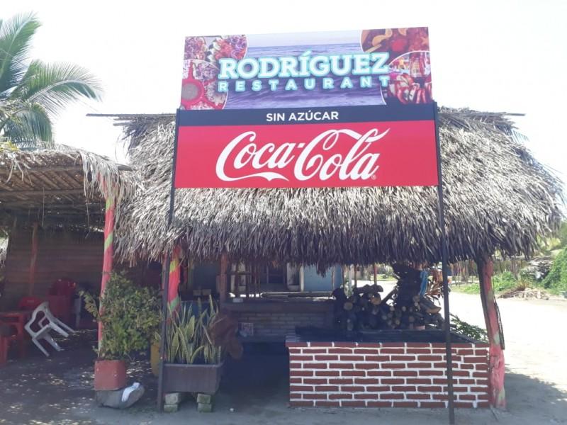 Temen restauranteros de San Blas delincuencia por coronavirus