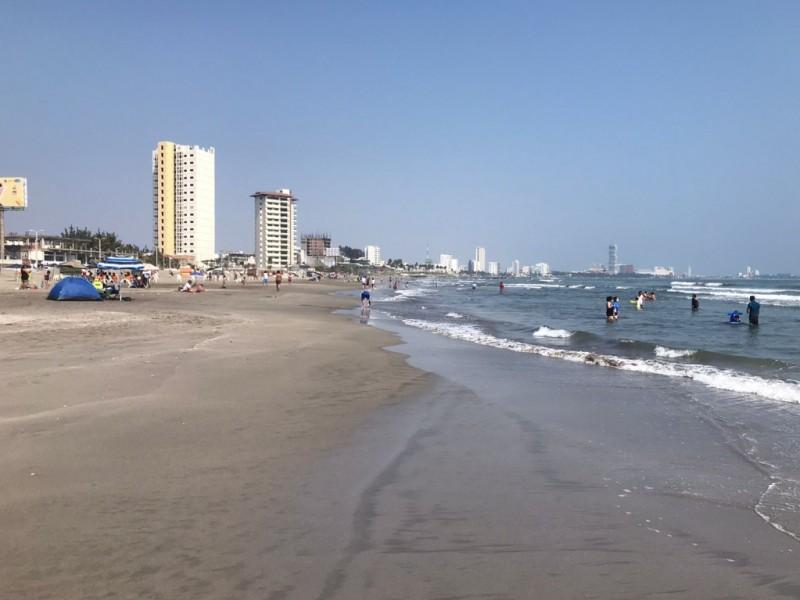 Temperatura de 23 a 24 grados en Veracruz