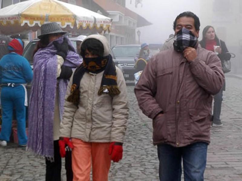 Temperatura de cero grados en Chiapas
