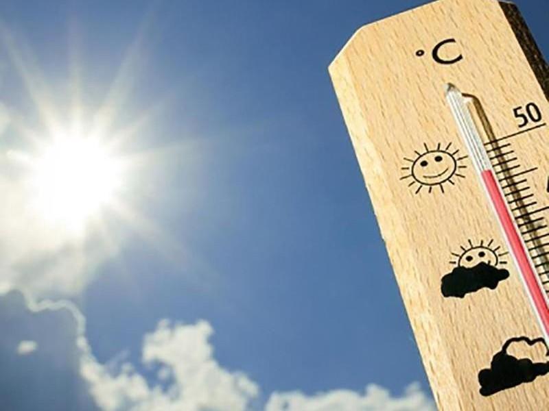 Temperaturas calurosas y rachas de viento, el pronóstico de hoy