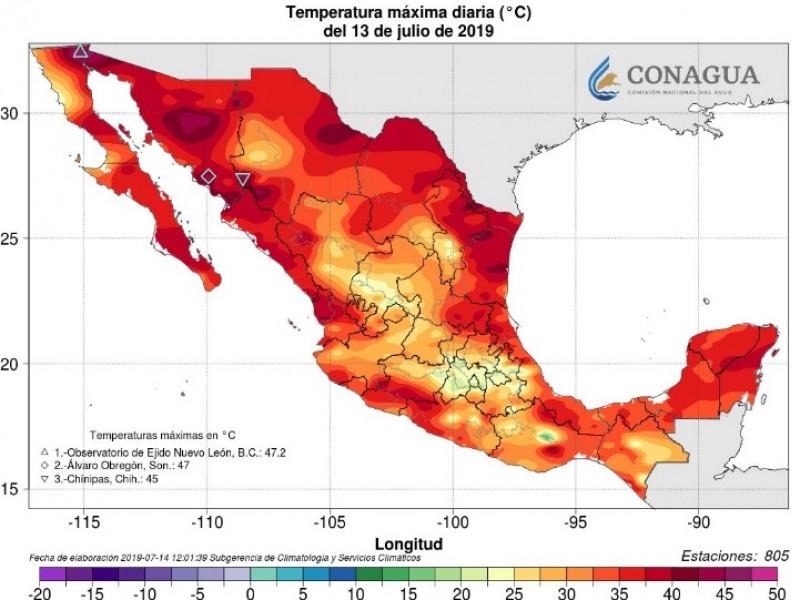 📹Temperaturas récord se registraron este año en México