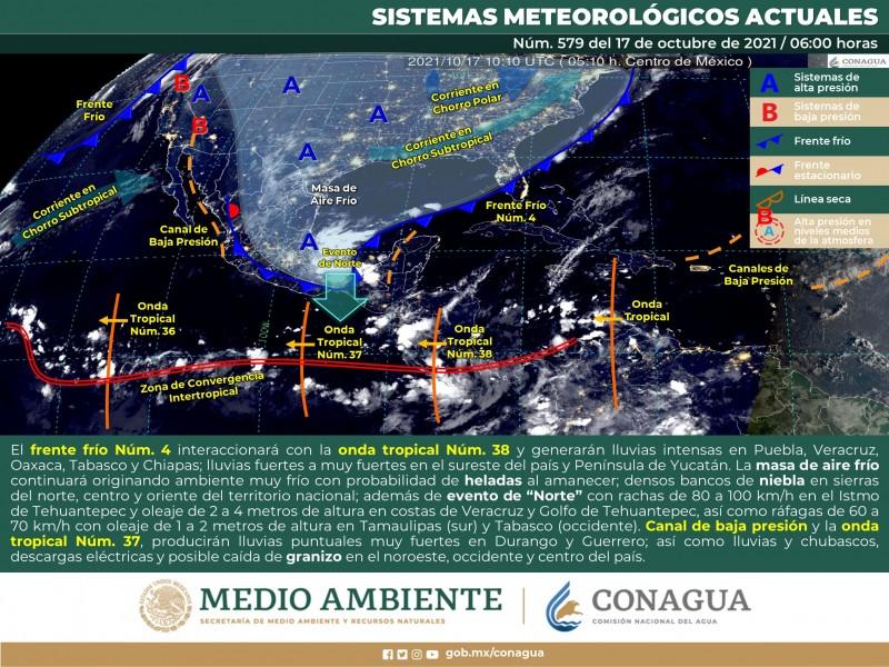 Temperaturas templadas sin probabilidad de lluvias en Sonora