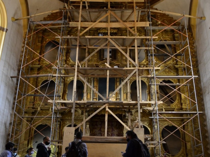 Templos de Chiapas culminan reconstrucción: Sedatu
