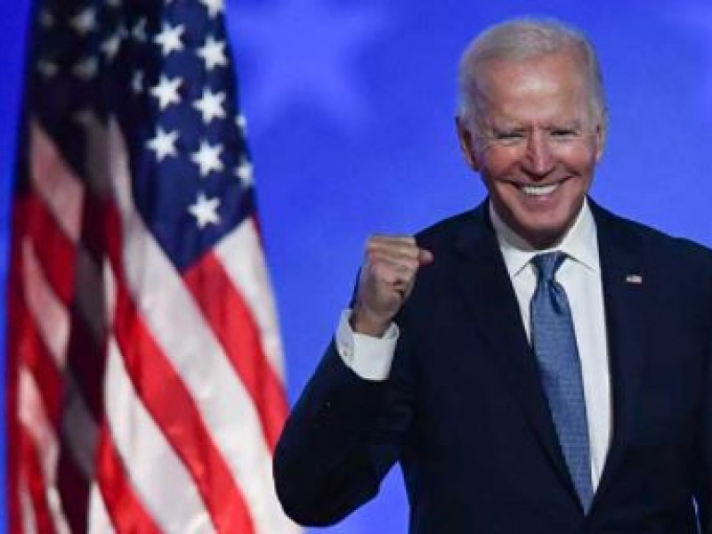 Tenemos más de 74 millones de votos: Joe Biden