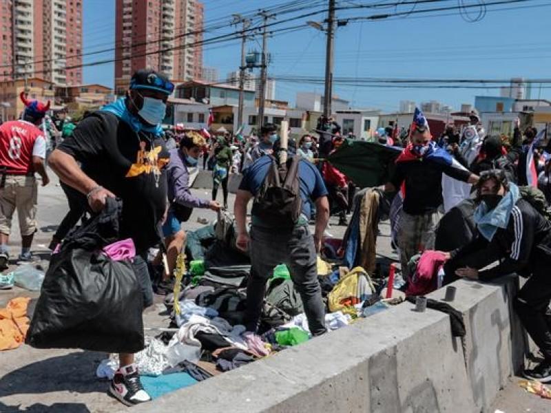 Tensión en Chile ante la entrada de miles de migrantes