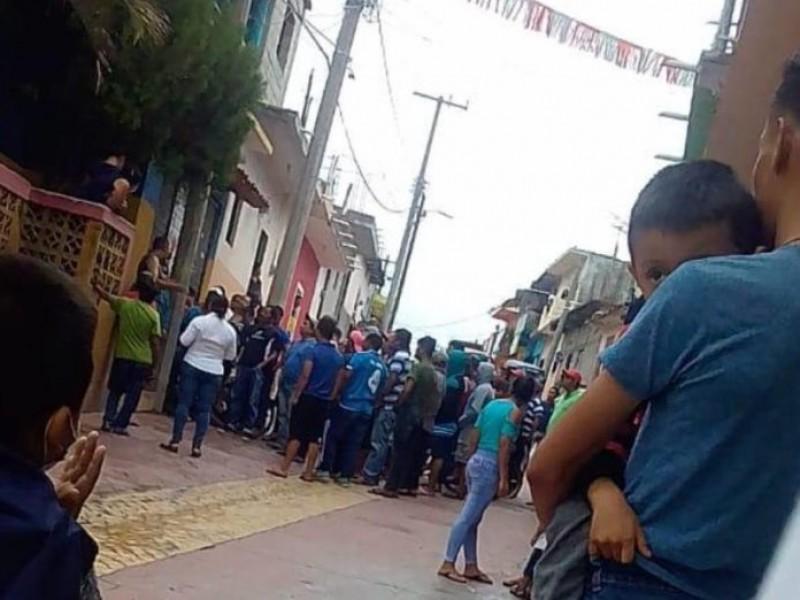 Tensión en Totolapa por sanitización vs COVID