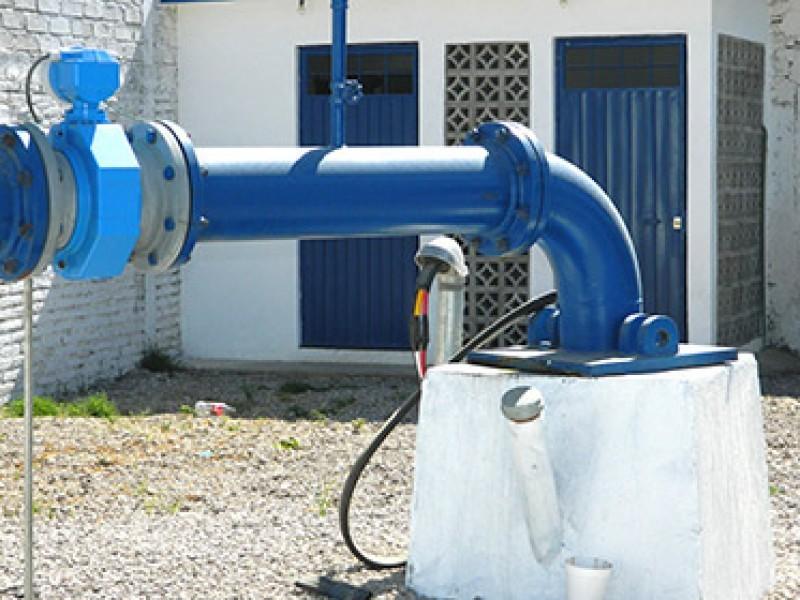 Se restablece suministro de agua potable en 6 pozos