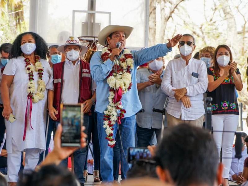 TEPJF hará justicia, asefura Félix Salgado, ante sanción del INE