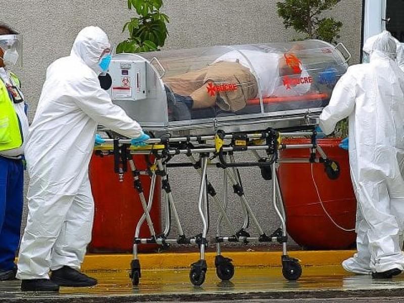 Tercera ola: México registra 877 muertes más por Covid-19