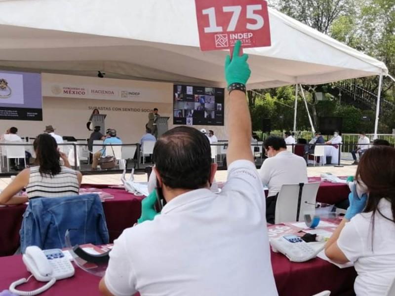 Tercera subasta recauda 64.3 millones de pesos