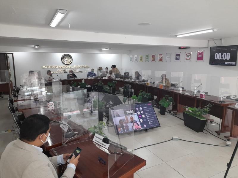 Termina cómputo distrital de diputaciones federales  en Chiapas