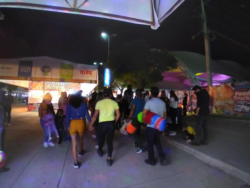 Termina Feria de Verano con buena afluencia de visitantes