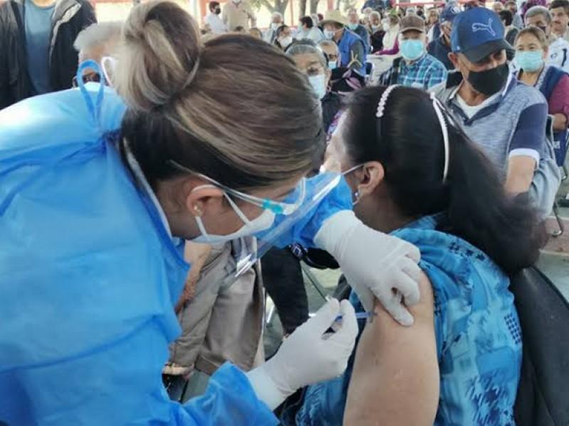 Aplican segunda dosis de vacuna en 95% de tonaltecas