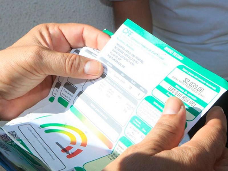 Termina subsidio de tarifa de luz este 31 de octubre