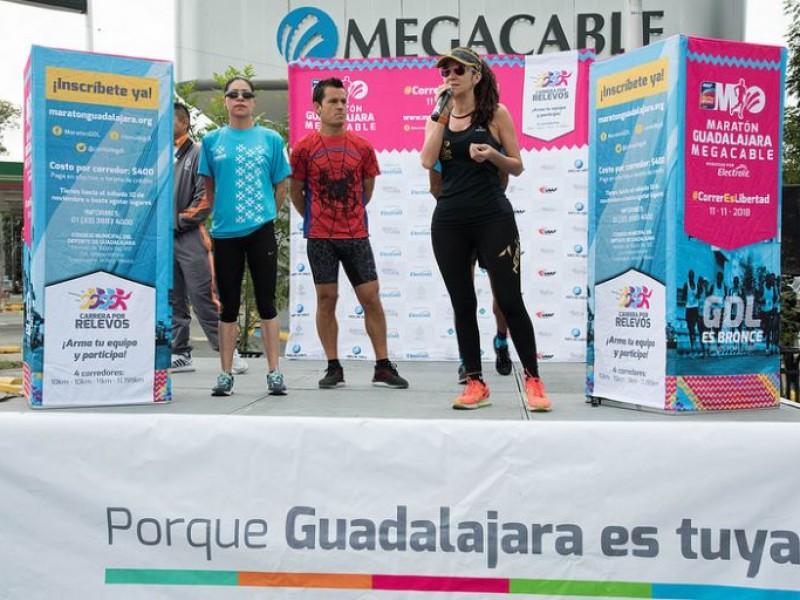 Terminaron entrenamientos rumbo al Maratón Guadalajara Megacable
