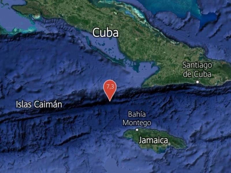 Terremoto de 7.3 sacude Jamaica y Cuba