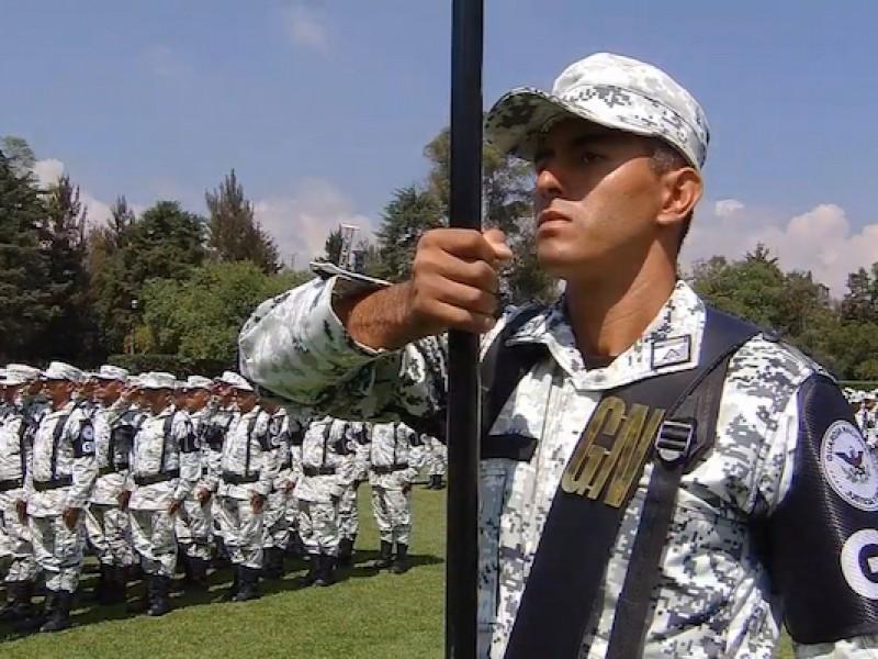 Terreno de guardia nacional hasta que haya presupuesto;Nava
