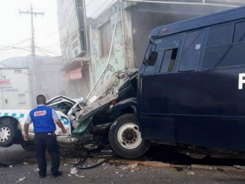 Terrible accidente en Tejupilco deja dos muertos