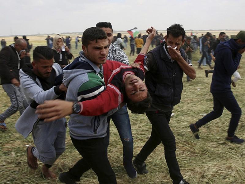 Terrible masacre en Gaza