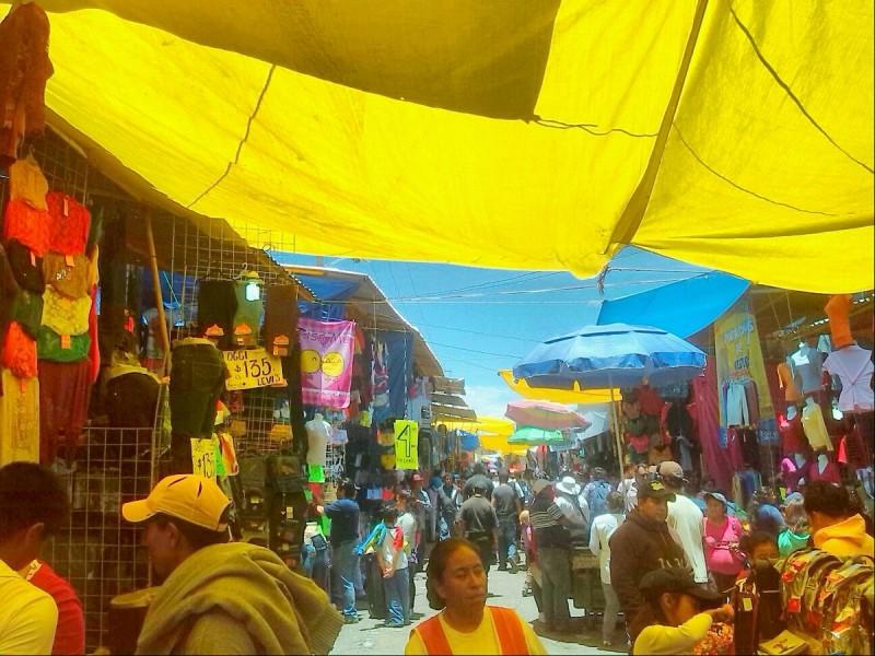 Tianguis de San Martín vuelve abrir a partir de hoy