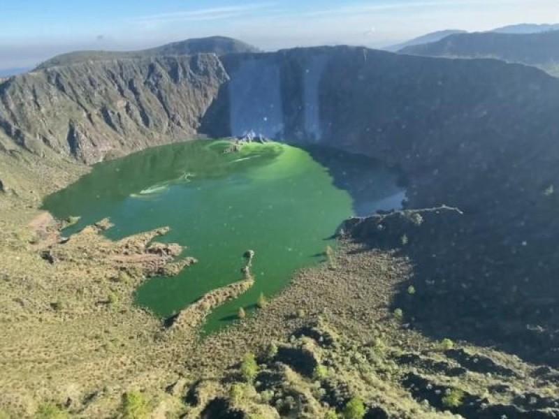 Tiemblan autoridades federales y estatales por volcán Chichonal