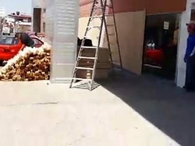 Tiendas toman medidas preventivas contra saqueos
