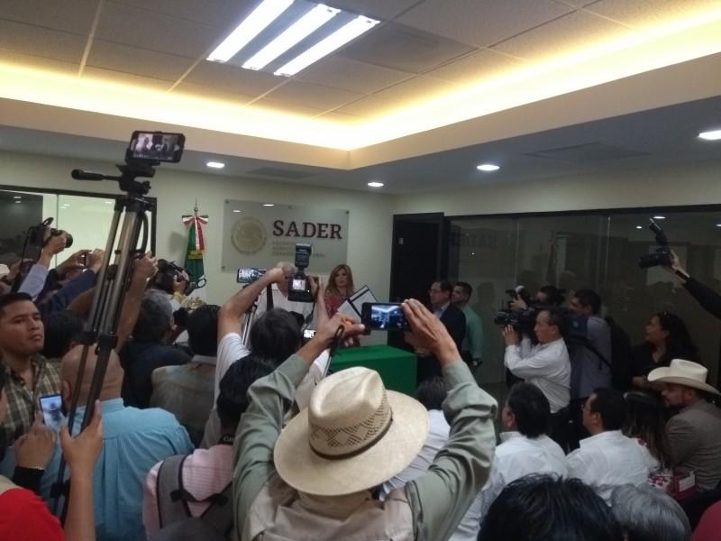 Tiene la Sader oficinas en Obregón