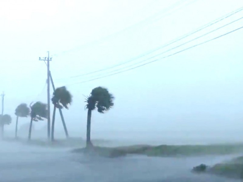 Tifón Haishen toca tierra en Corea del Sur