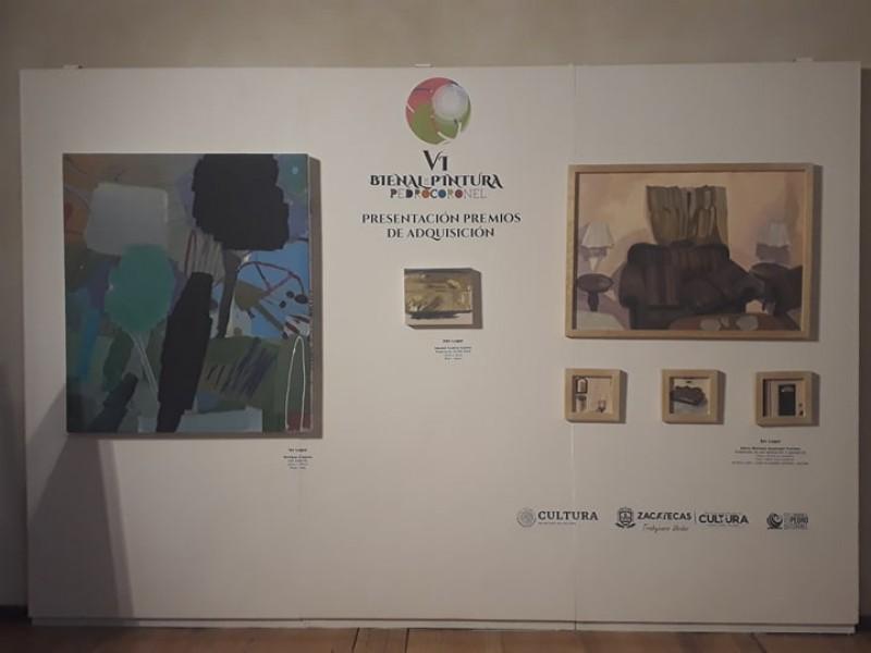 Tijuanense gana VI Bienal de Pintura Pedro Coronel