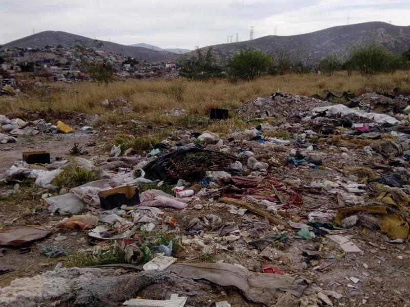 Abundan basureros clandestinos en Gómez Palacio