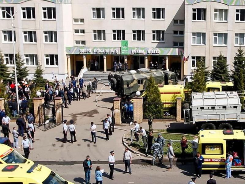 Tiroteo en escuela deja 9 muertos en Rusia