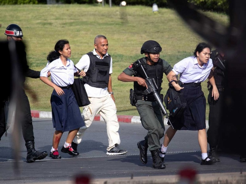 Tiroteo en Tailandia deja 27 muertos