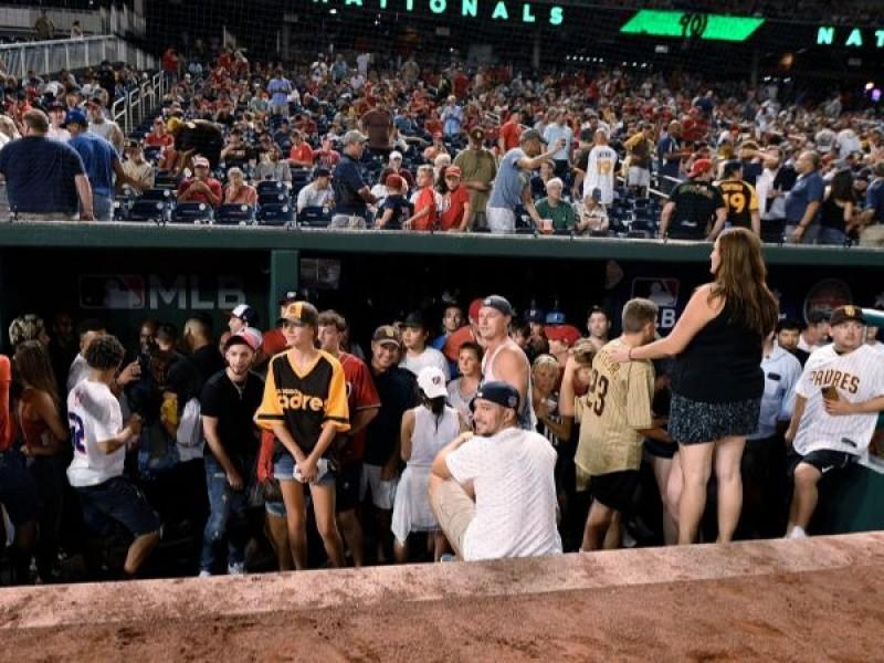 Tiroteo interrumpe partido de beisbol en Washington
