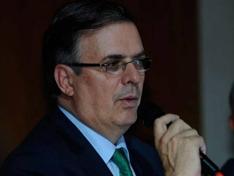TLCAN sigue negociándose: Marcelo Ebrard