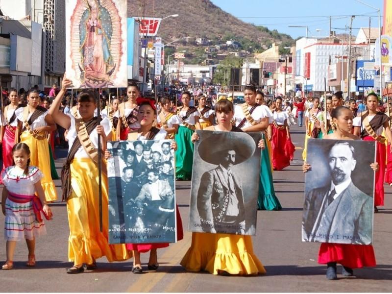Todo listo para Desfile Revolucionario