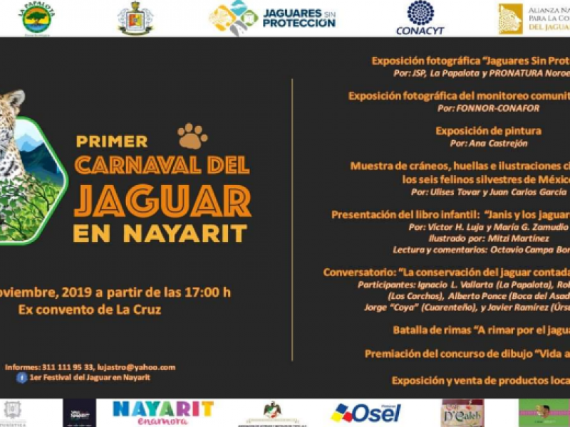 Todo listo para el 1er festival del jaguar