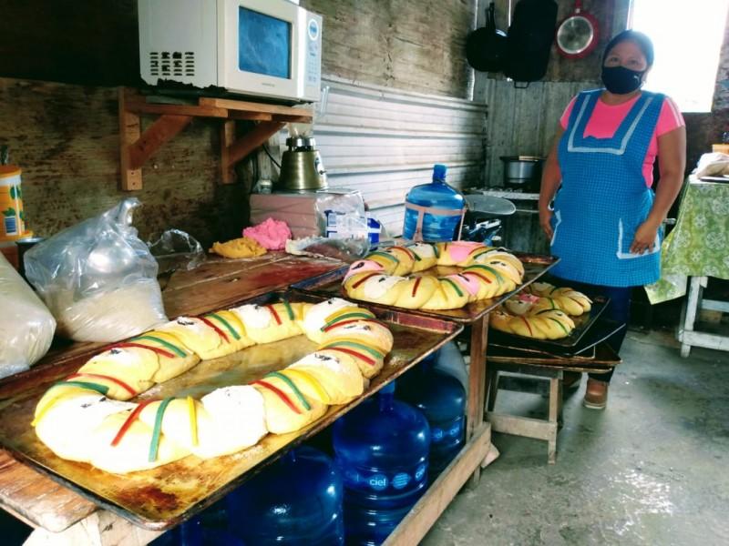Todo listo para la tradicional Rosca de Reyes