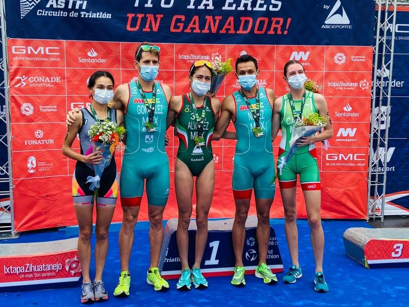 Todo un éxito regreso del Triatlón Ixtapa-Zihuatanejo