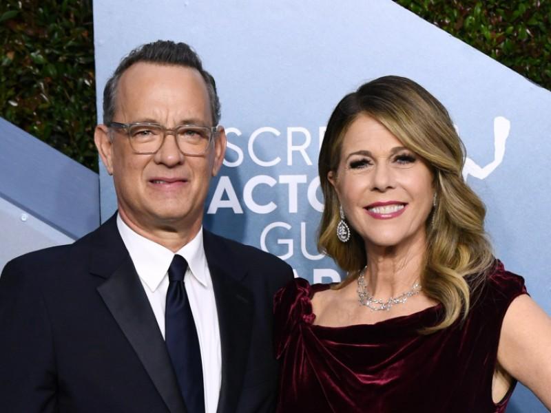 Tom Hanks y Rita Wilson dan positivo a Coronavirus