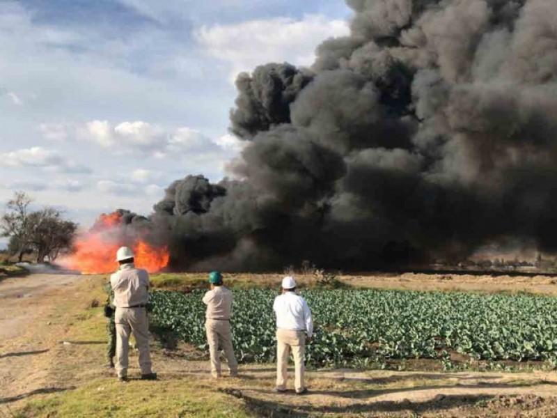 Toma clandestina provoca fuga de Gas en Puebla