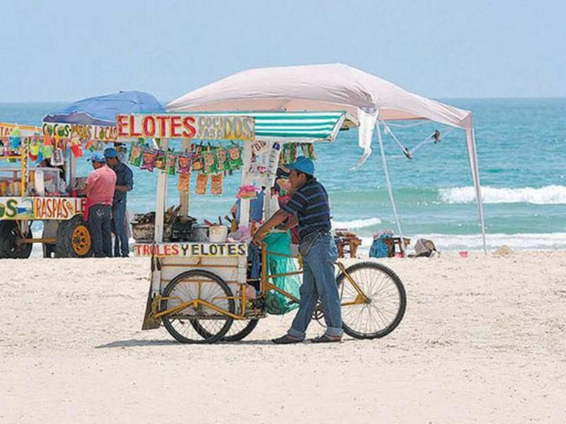 Toma por sorpresa a comerciantes de Huatabampo apertura de playas