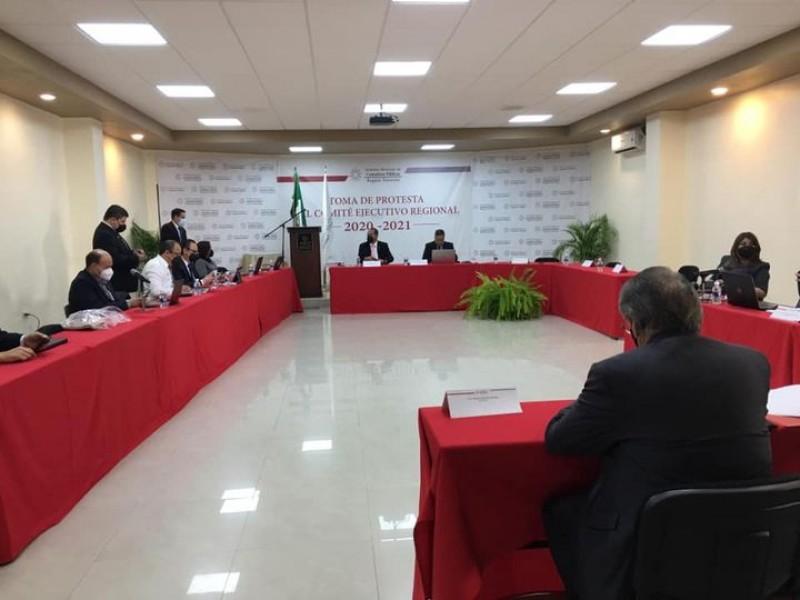 Toma protesta José Hugo López  en Comité Ejecutivo Regional