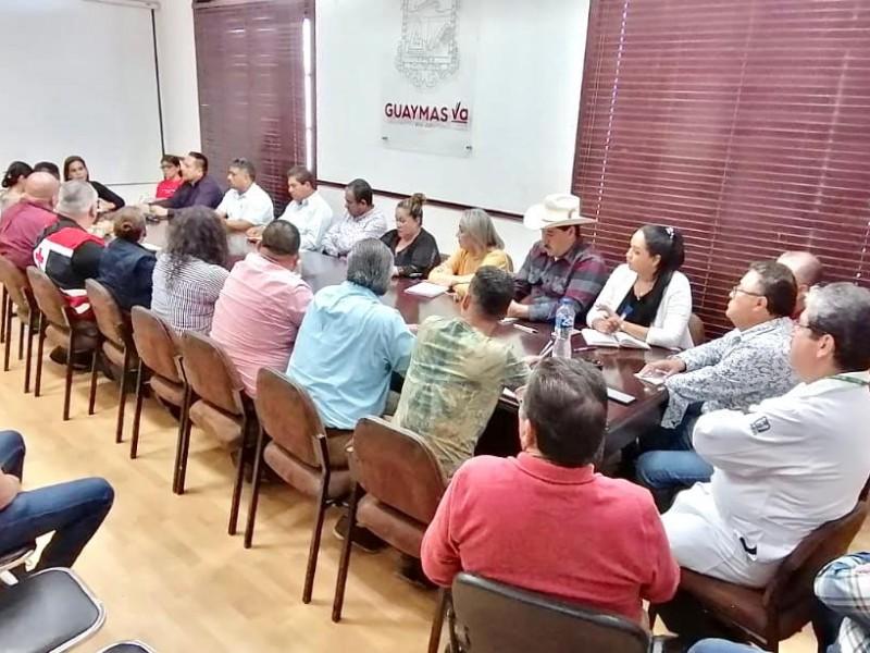 Toman acciones contra coronavirus en Guaymas
