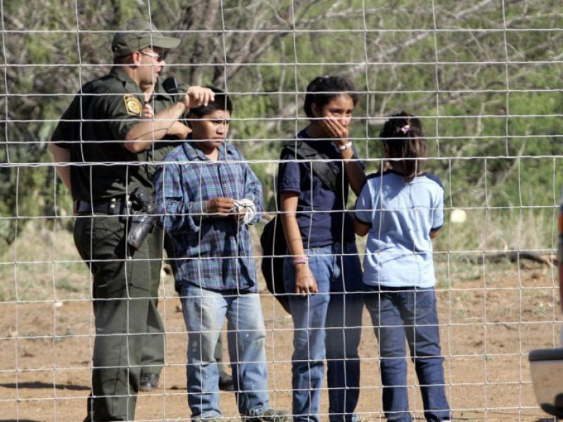 Toman datos biométricos de menores migrantes