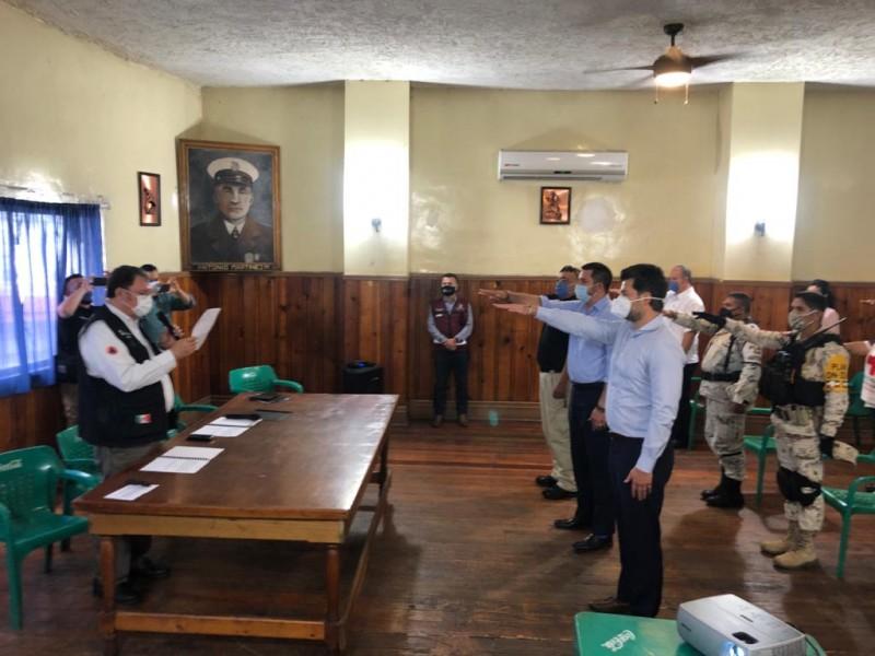 Toman protesta a nuevo Consejo Municipal de Protección Civil
