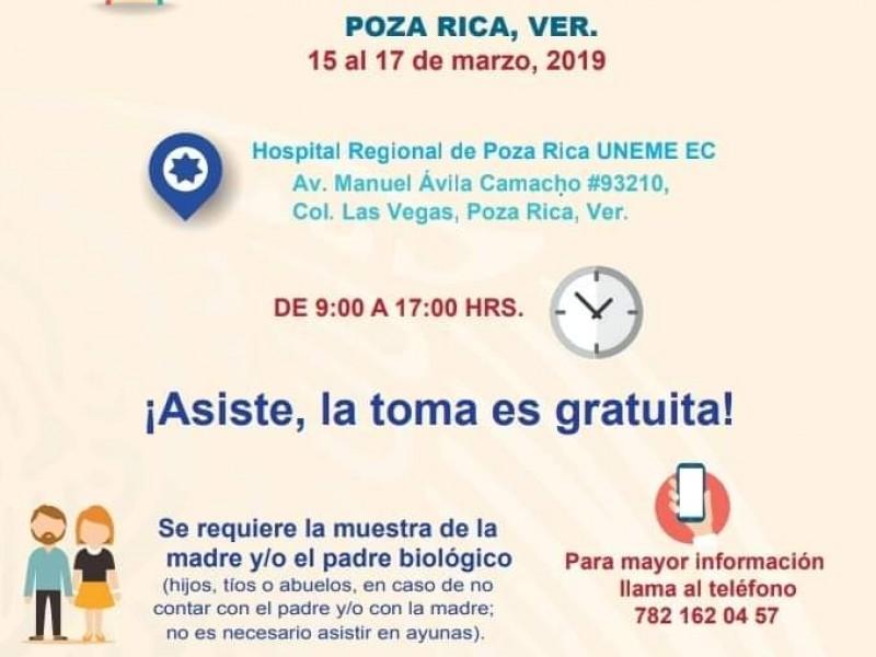 Tomarán muestras a familiares de desaparecidos Poza Rica